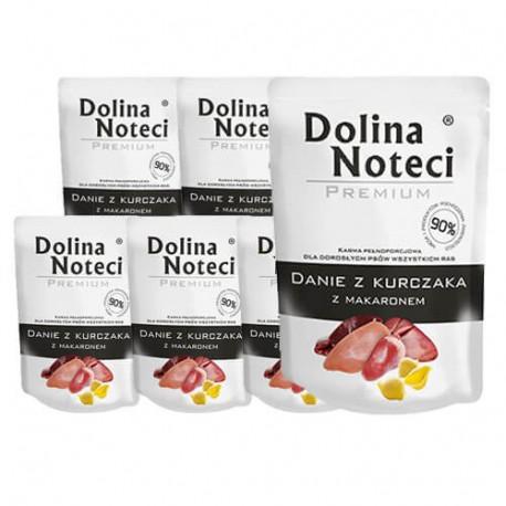 DOLINA NOTECI DOG Premium Danie z kurczaka z makaronem 100g