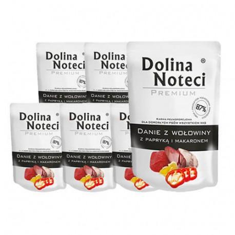 DOLINA NOTECI DOG Premium Danie z wołowiny z papryką 100g