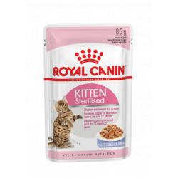 ROYAL CANIN CAT Kitten Sterilised w galarecie saszetka
