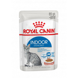 ROYAL CANIN CAT Indoor Sterilised w sosie saszetka