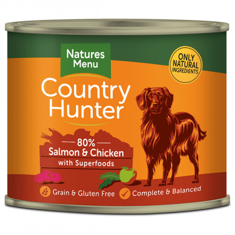 NATURES MENU DOG Country Hunter 80% Królik z żurawiną 600g