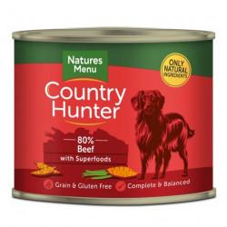 NATURES MENU DOG Country Hunter 80%Wołowina i słodkie ziemniaki 600g