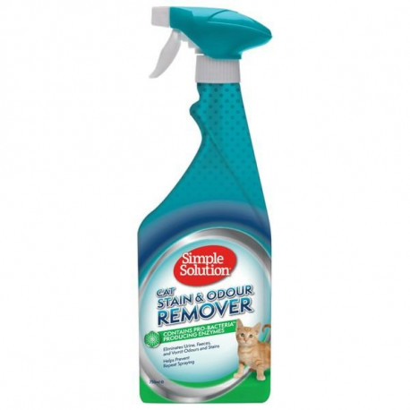 SIMPLE SOLUTION Stain & Odour Remover Cat 750ml