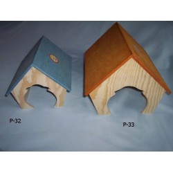 PINOKIO Domek dla świnki morskiej ze spadzistym dachem