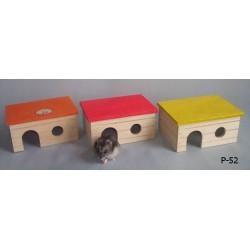 PINOKIO Domek z płaskim dachem dla małych gryzoni