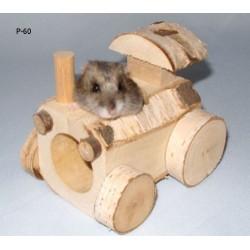 Pinokio Zabawka traktor dla gryzoni
