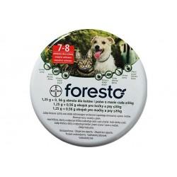 BAYER Foresto 1,25 g + 0,56 g Obroża