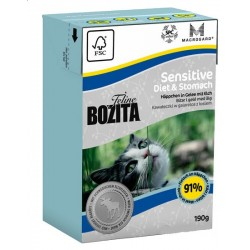 BOZITA Feline Funktion Sensitive Diet & Stomach 190g