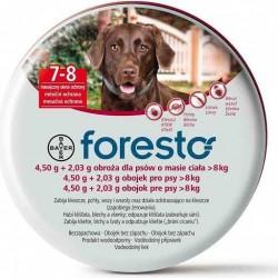 BAYER Foresto 1,50 g + 2,03 g Obroża