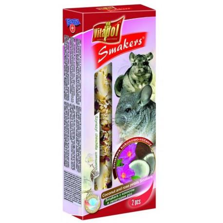 VITAPOL Smakers kokosowo - różany dla szynszyli