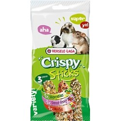 VERSELE LAGA Crispy Sticks Herbivores Triple Variety Pack