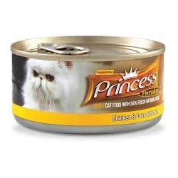 PRINCESS Premium Tuńczyk/Kurczak/Ryż 170g