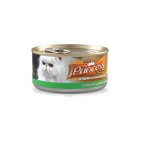 PRINCESS Premium Tuńczyk/Kurczak/ Warzywa 170g