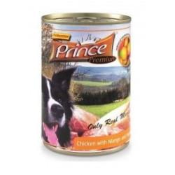 PRINCE DOG Premium Kurczak z mango i słodkimi ziemniakami puszka