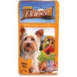 PRINCE DOG Kurczak z jabłkiem i grzybkami Reishi 150g saszetka