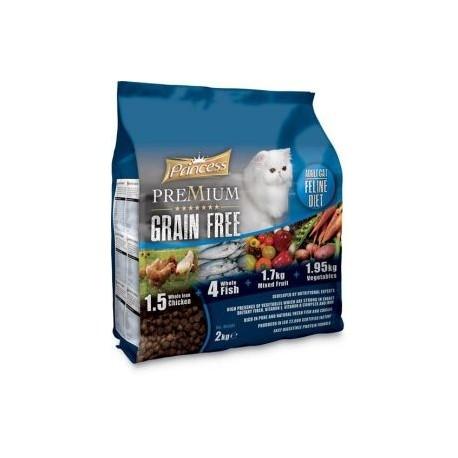 """PRINCESS """"Bez zbóż"""" dla dorosłych kotów"""