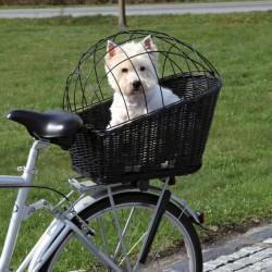 TRIXIE Koszyk rowerowy czarny dla zwierząt