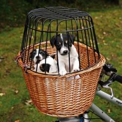 TRIXIE Koszyk rowerowy na kierownicę zamykany dla zwierząt