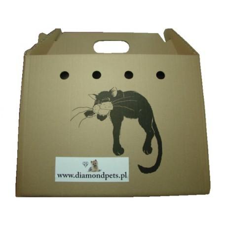TRANSPORTER kartonowy dla kota