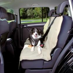TRIXIE Mata samochodowa tylne siedzenie beżowa rozpinana