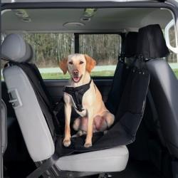 TRIXIE Mata samochodowa tylne siedzenie czarna rozpinana