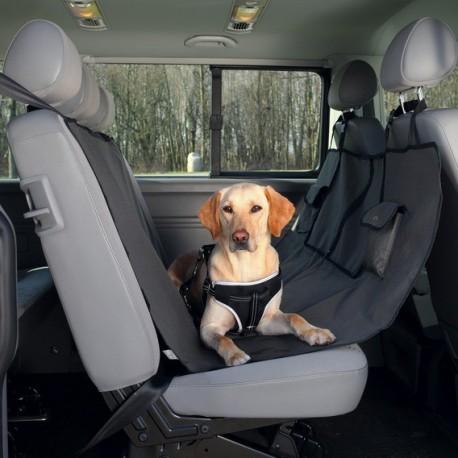 TRIXIE Mata samochodowa tylne siedzenie czarno-brązowa