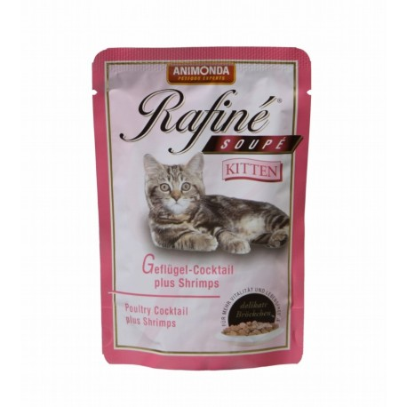 ANIMONDA Rafine Soup Kitten 100g saszetka