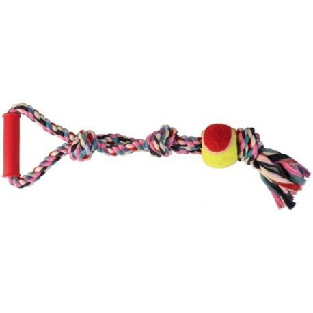 TRIXIE Zabawka Sznur z piłką i uchwytem