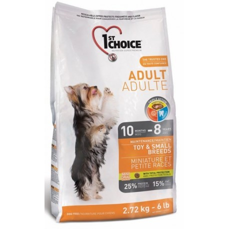 1st CHOICE DOG Adult Toy&Small