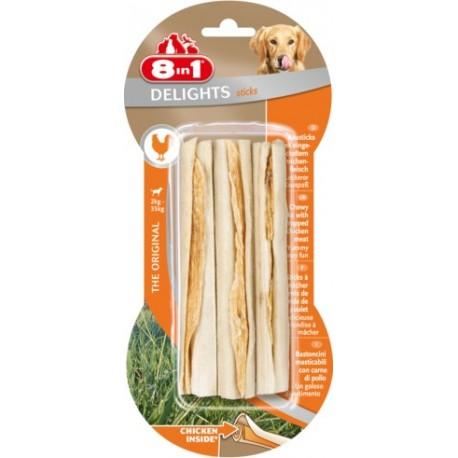 8in1 Delights Sticks 3szt gryzaków przysmak dla psa