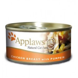 APPLAWS CAT Filety 156g puszka