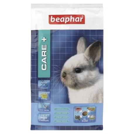 BEAPHAR Care + Rabbit Junior pokarm dla młodych królików