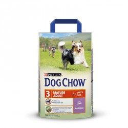 PURINA DOG CHOW Mature Adult +5 Lamb