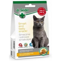 Dr SEIDEL Smakołyki na piękną sierść dla kota 50g