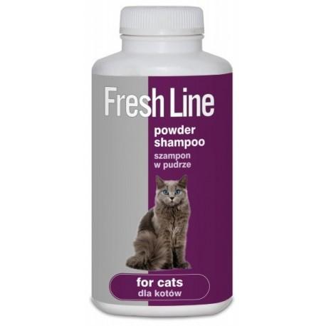 FRESH LINE Szampon w pudrze dla kota 250ml
