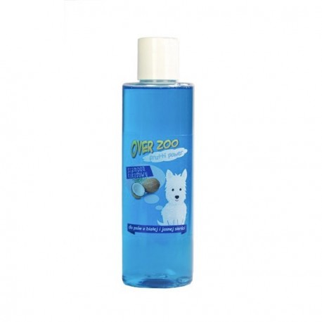 OVER ZOO Frutti Power Szampon kokosowy 200ml