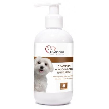 OVER ZOO Szampon dla psów o jasnej i białej sierści 250ml