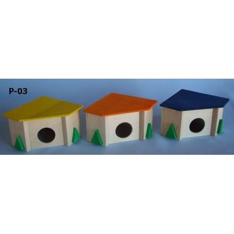 PINOKIO Domek narożny dla mniejszych gryzoni