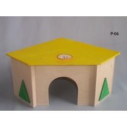 PINOKIO Domek narożny dla większych gryzoni i królików