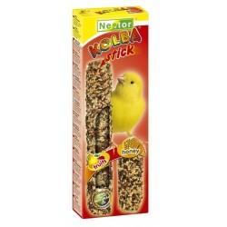 NESTOR Kolba 2w1 miodowo - owocowa dla kanarków 2szt.