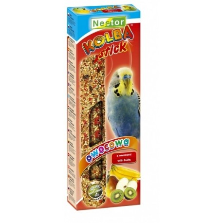 NESTOR Kolba owocowa dla małych papug 2szt.