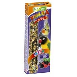 NESTOR Kolba leśna dla średnich papug 2szt.