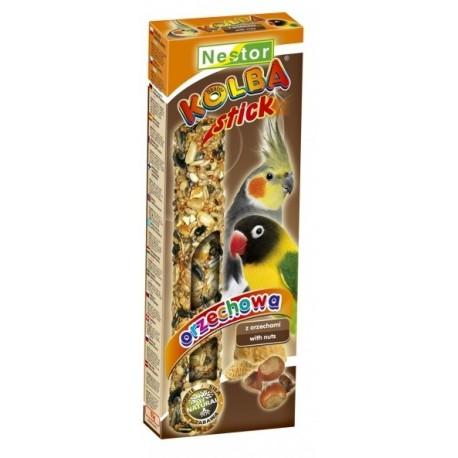 NESTOR Kolba orzechowa dla średnich papug 2szt.