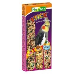 NESTOR Kolba 3w1 dla średnich papug 3szt.