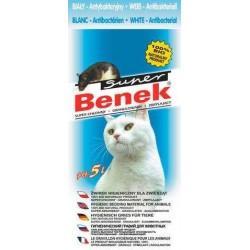 BENEK Żwirek Antybakteryjny 5l dla kota