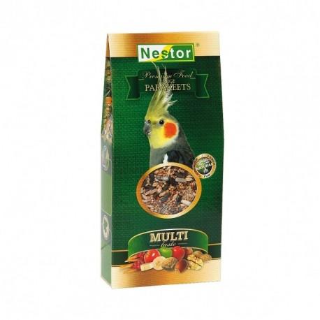 NESTOR Pokarm Premium dla średnich papug 500ml