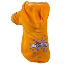 GF Bluza Dog Beautiful żółta