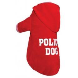 GF Bluza Police Dog czerwona
