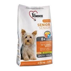 1st CHOICE DOG Senior Toy&Small