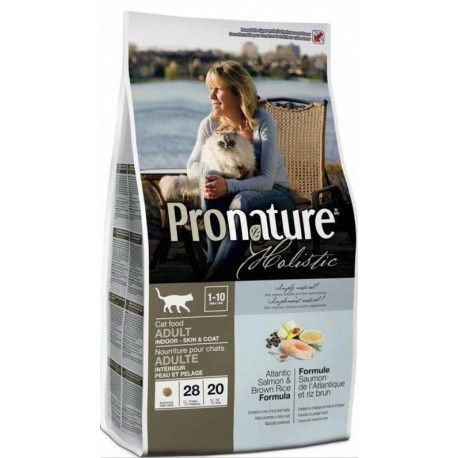 PRONATURE HOLISTIC Cat Adult Indoor Skin & Coat